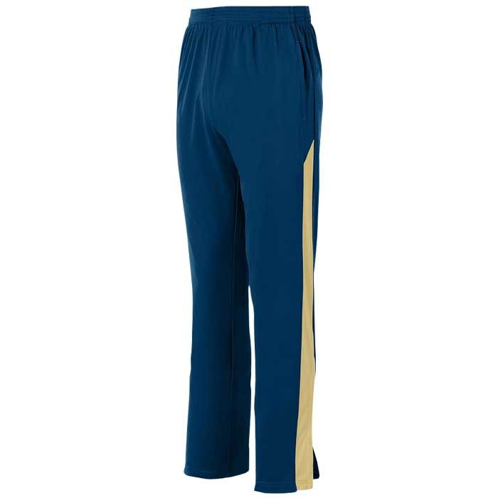 Navy Blue and Vegas Gold Olympian 2.0 Warmup Pants