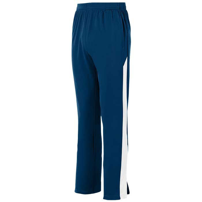 Navy Blue and White Olympian 2.0 Warmup Pants