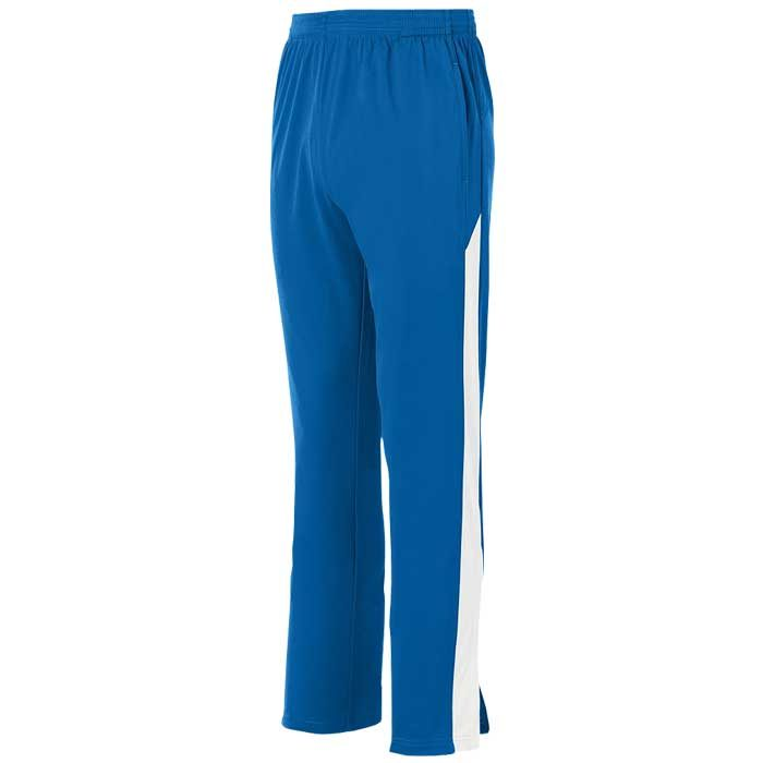 Royal Blue and White Olympian 2.0 Warmup Pants