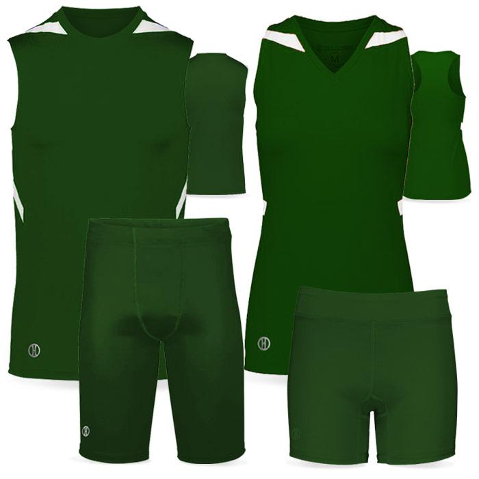 PR Max Compression Track Uniform in Dark Green