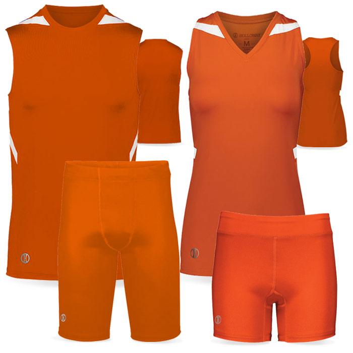 PR Max Compression Track Uniform in Orange