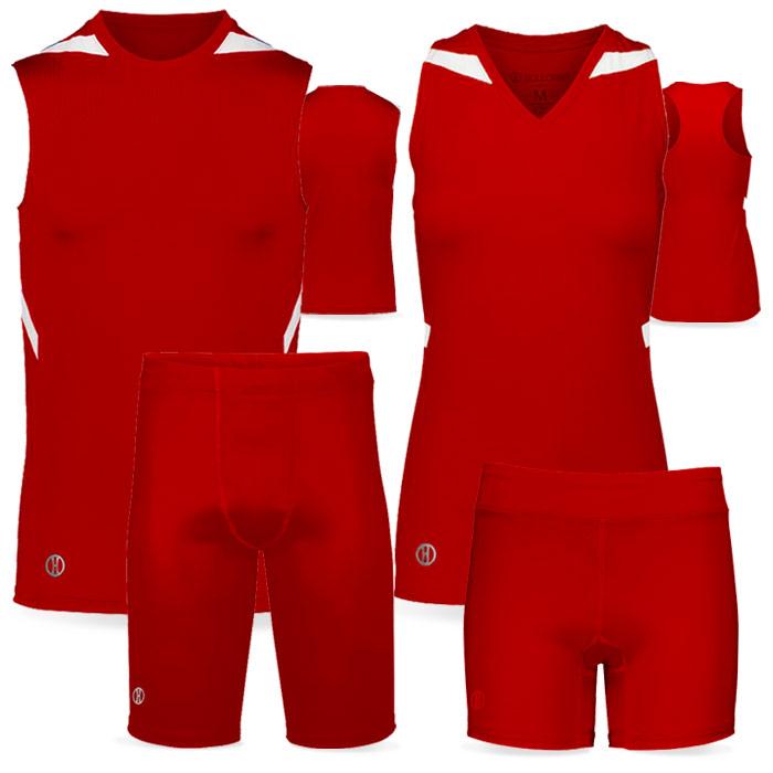PR Max Compression Track Uniform in Red