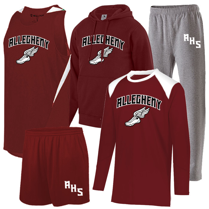 Track and Field Team Pack PR Max in Maroon