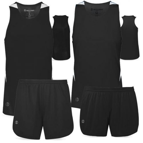 PR Max Track Uniform in Black