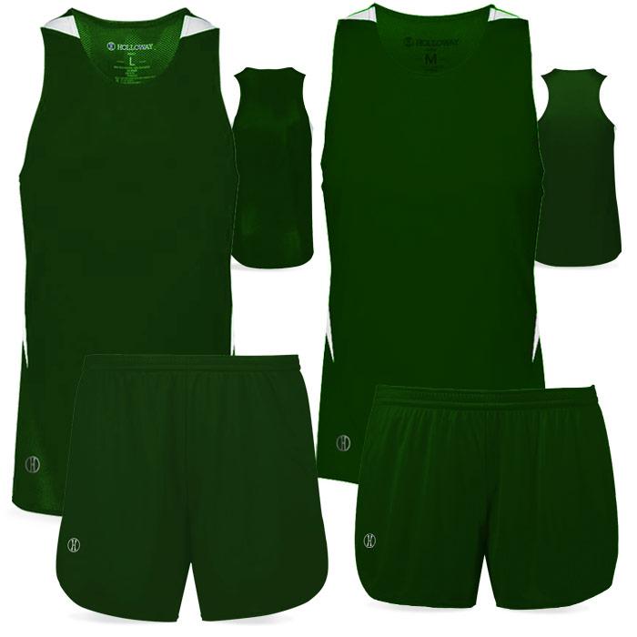 PR Max Track Uniform in Forest Green