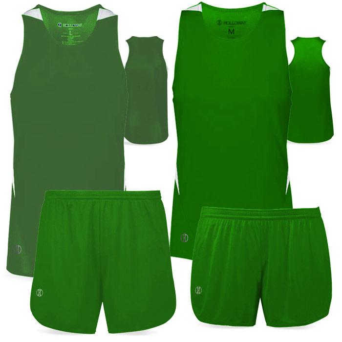PR Max Track Uniform in Kelly Green