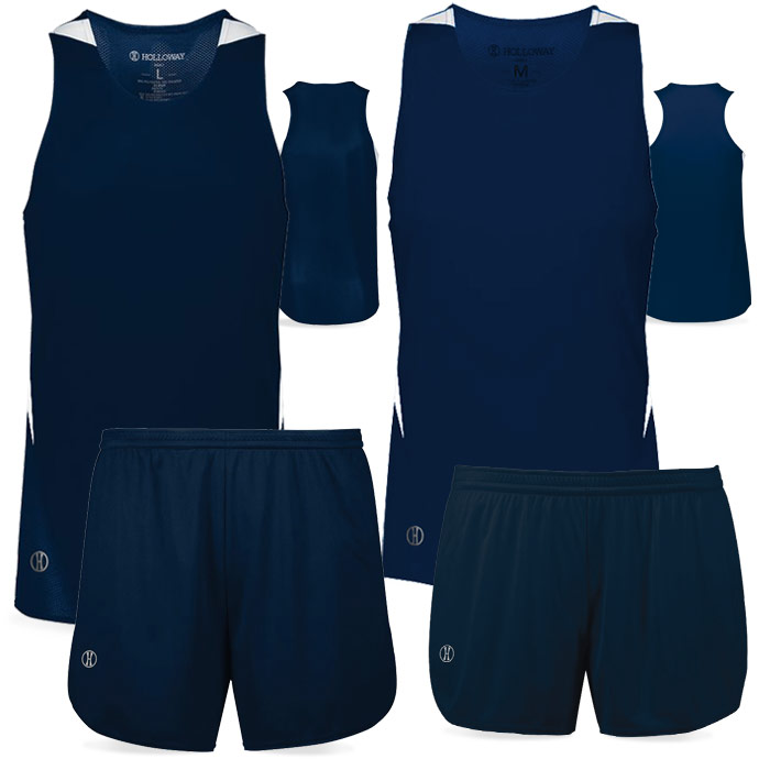 PR Max Track Uniform in Navy Blue