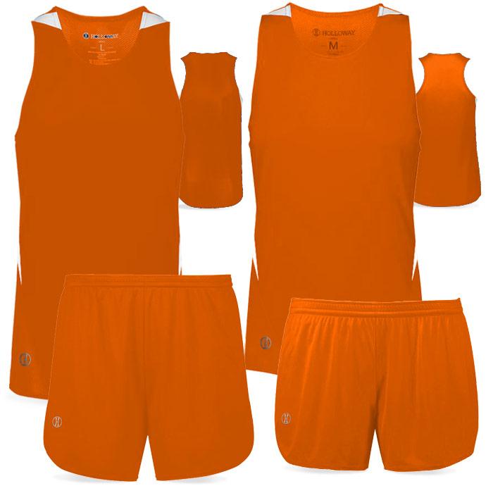 PR Max Track Uniform in Orange