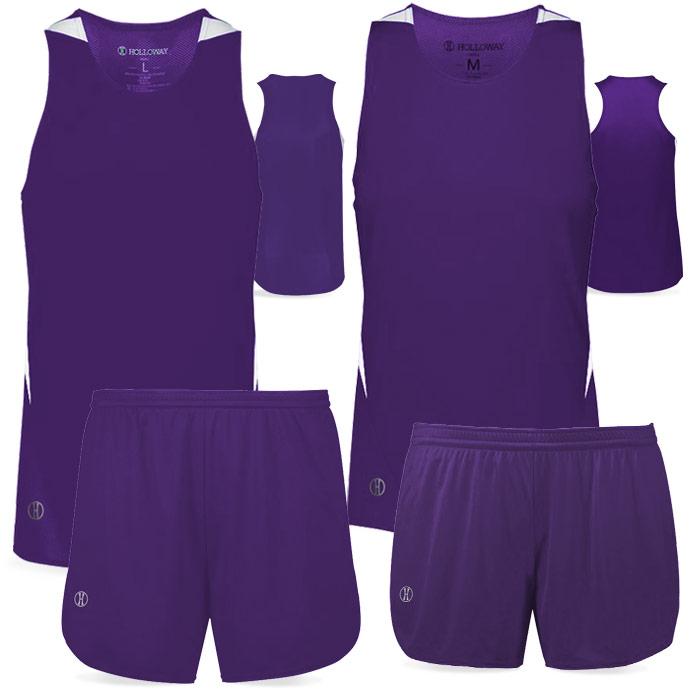 PR Max Track Uniform in Purple