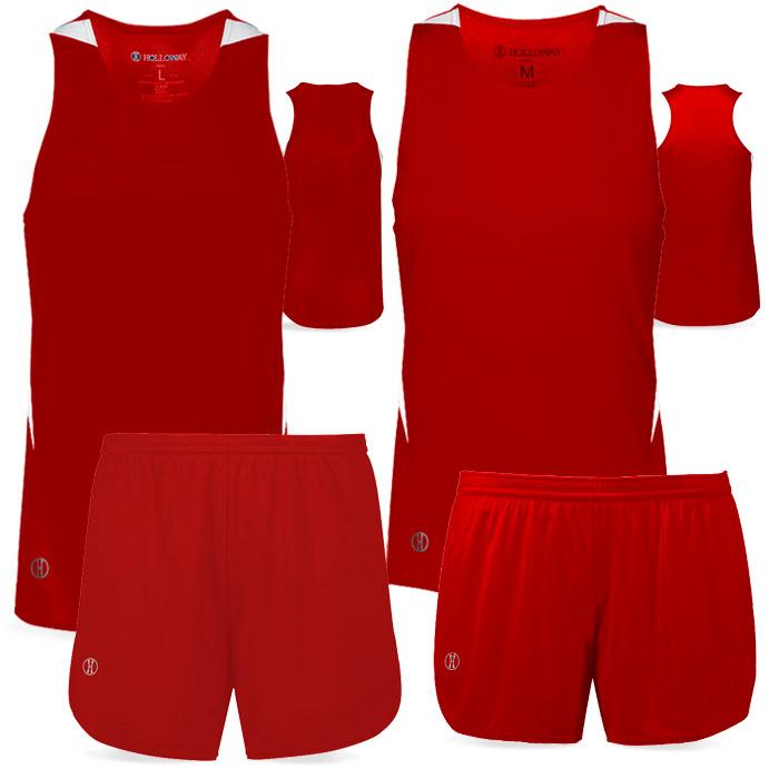 PR Max Track Uniform in Red