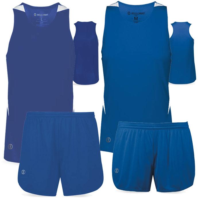 PR Max Track Uniform in Royal Blue