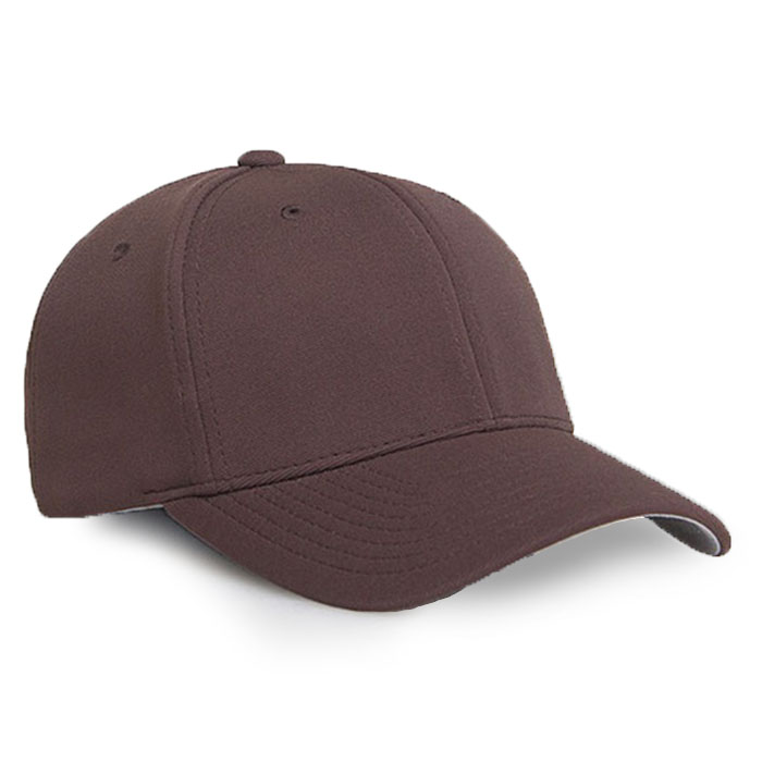 Embroidered FlexFit Performance Cap brown