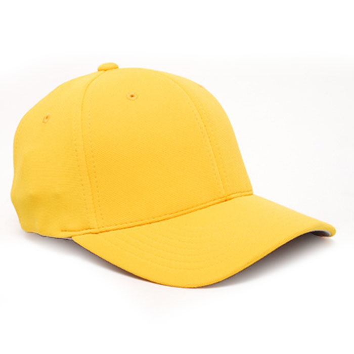 Embroidered FlexFit Performance Cap gold