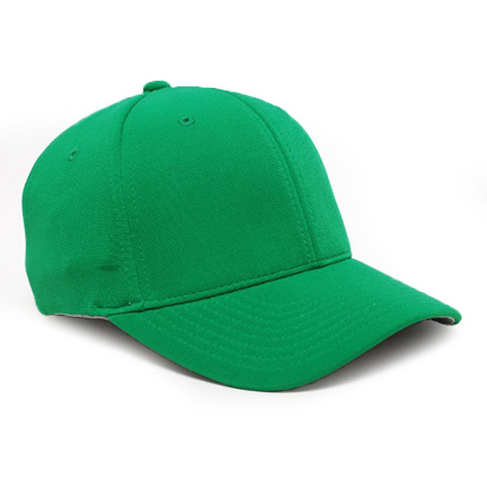Embroidered FlexFit Performance Cap in Kelly Green