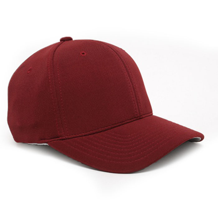 Embroidered FlexFit Performance Cap in Maroon