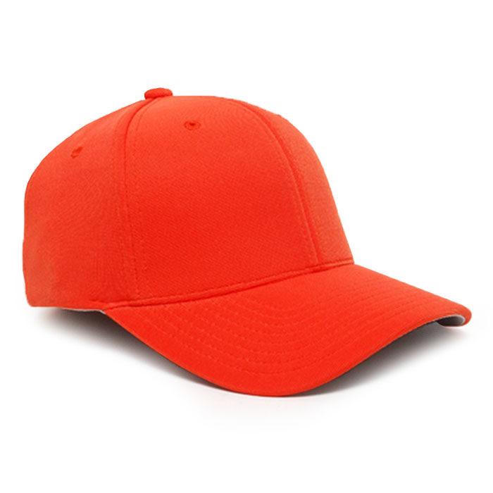 Embroidered FlexFit Performance Cap in Orange