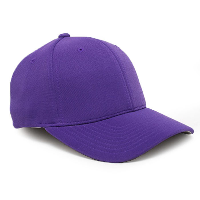 Embroidered FlexFit Performance Cap in Purple