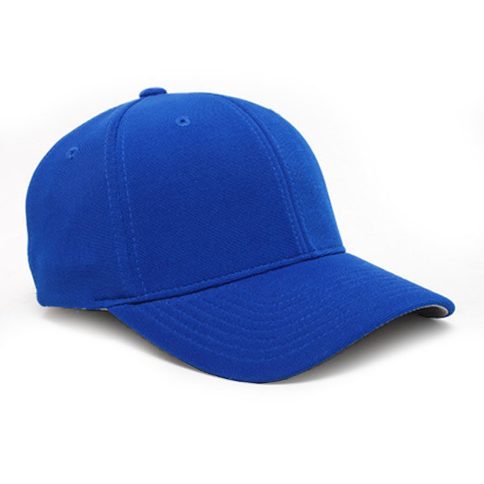 Embroidered FlexFit Performance Cap in Royal Blue