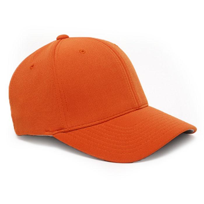Embroidered FlexFit Performance Cap in Texas Orange