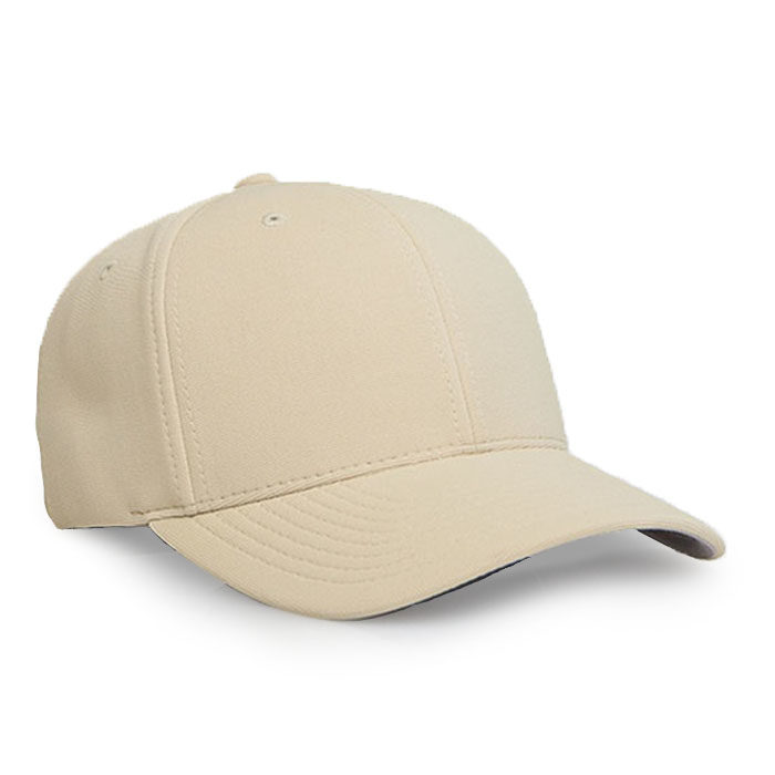 Embroidered FlexFit Performance Cap in Vegas Gold