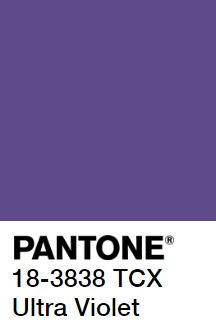 Pantone's Ultra Violet Color of the Year 2018