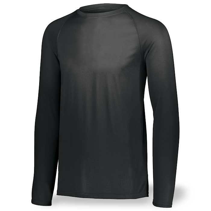 Black Long Sleeve Performance Tee LS