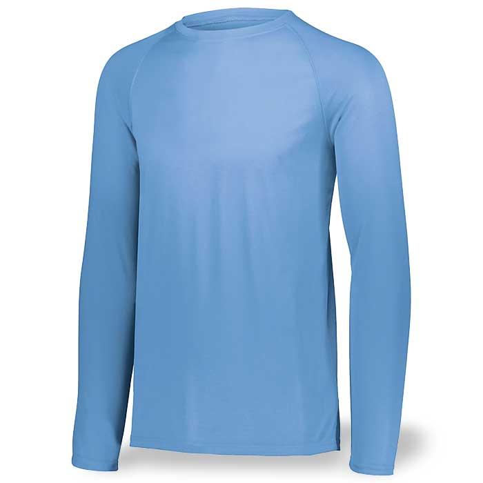 Columbia Blue Long Sleeve Performance Tee LS
