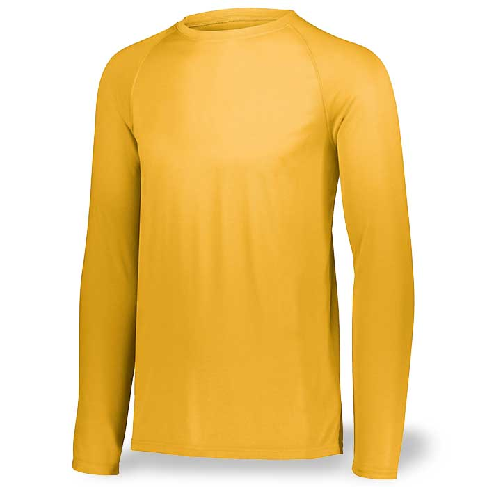 Athletic Gold Long Sleeve Performance Tee LS