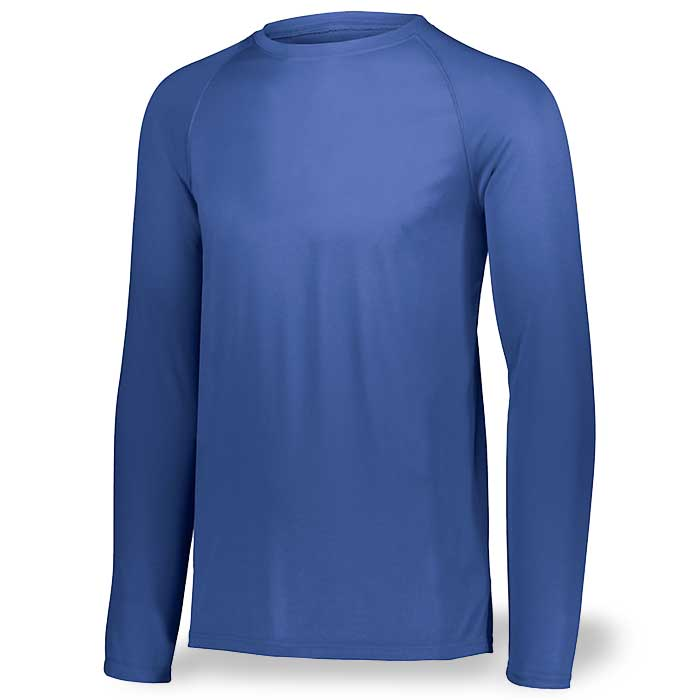Royal Blue Long Sleeve Performance Tee LS