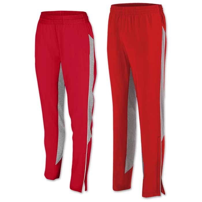 Preeminent Warmup Pants in Red