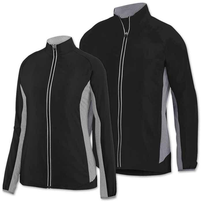Preeminent Warmup Jacket in Black