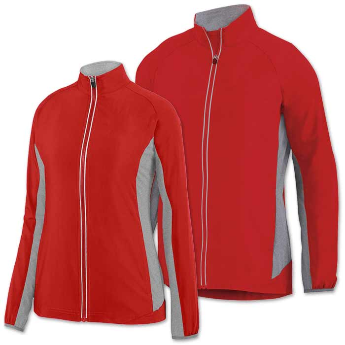 Preeminent Warmup Jacket in Red