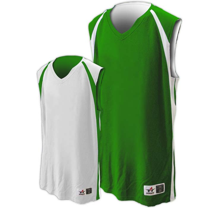 Alleson reversible basketball jersey in kelly white