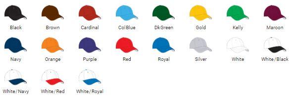 Pride Cap Colors