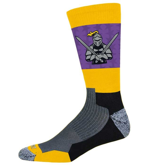 Pro Ink Custom Crew Socks to match Elite Supernova Basketball Uniform