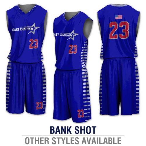 ProSphere Basketball Uniform, Custom Sublimated Basketball Jersey and Shorts