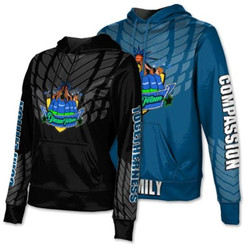 Custom Sublimated ProSphere Dark Armour Hoodie