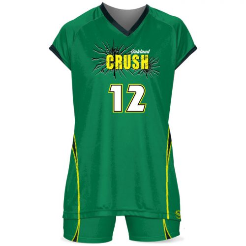 Custom Sublimated ProSphere Dig Volleyball Uniform Front View