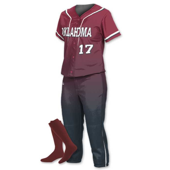 Fastpitch Softball Prosphere Longball custom sublimated softball uniform