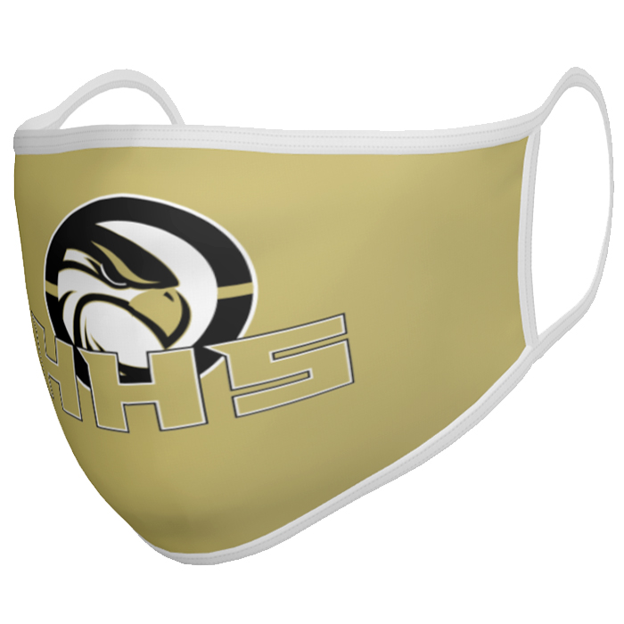 Custom Sublimated ProSphere Face Mask Solid 1-Color