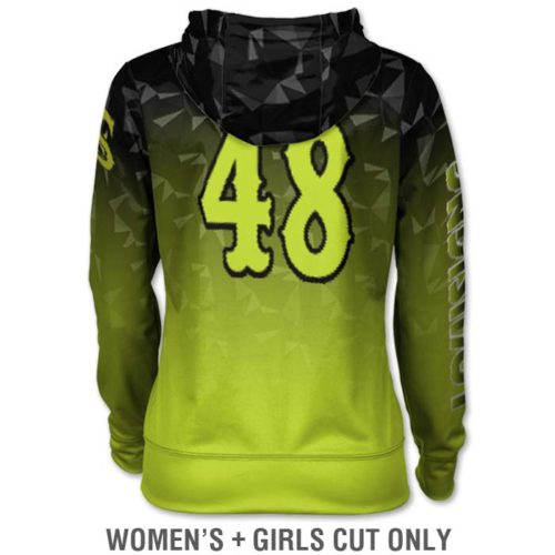 Ladies Custom Sublimated ProSphere Maya Hoodie