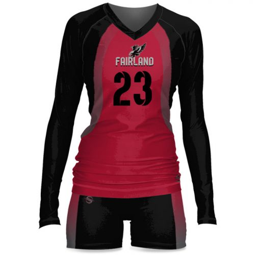 Custom Sublimated ProSphere Tandem Women's Volleyball Uniform