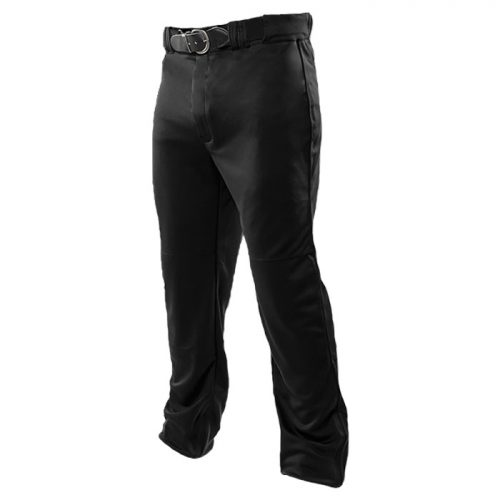 Baseball Relief Solid Pant in Black