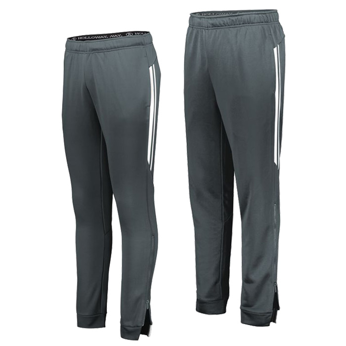 Retro Grade Warmup Tapered Pants in Graphite