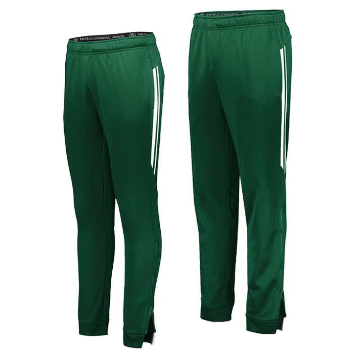 Retro Grade Warmup Tapered Pants in Forest Green