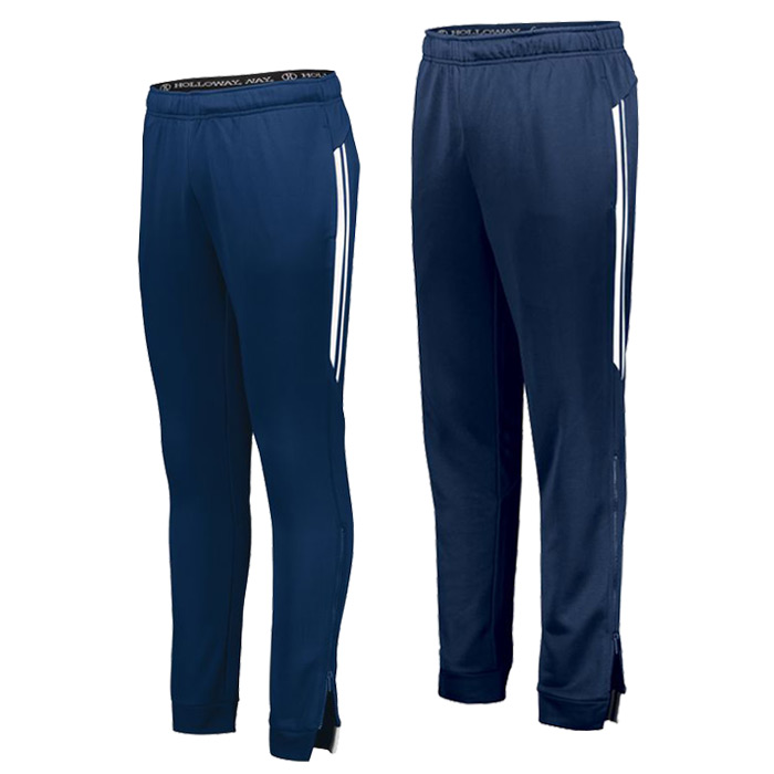 Retro Grade Warmup Tapered Pants in Navy