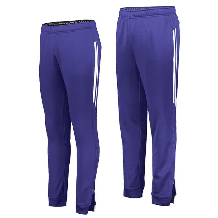 Retro Grade Warmup Tapered Pants in Purple