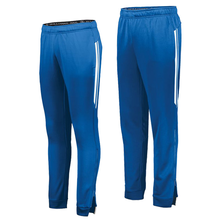Retro Grade Warmup Tapered Pants in Royal