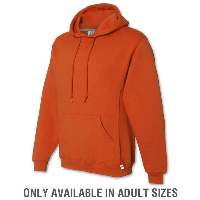 Russell Dri-Power Hoodie in Burnt Orange