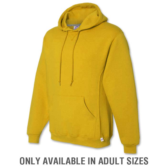 Russell Dri-Power Hoodie in Athletic Gold